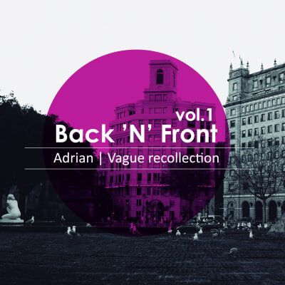 Adrian | Vague Recollection – Back'N'Front Vol.1